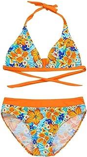 Vincent/&July 2PCS Infant Kids Girls Star Print Bowknot Swimwear Swimsuit Bathing Bikini Outfit 4-9T
