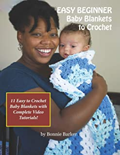 EASY BEGINNER Baby Blankets to Crochet: With Complete Video Tutorials!
