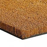 Dawsons Living Coir Matting for Entrances - Coir Doorway Coconut Entrance Mat Strips - Cut to Size - Doormats (1m x 0.5m (100cm x 50cm))