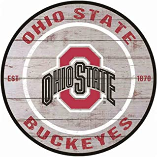YOMIA Funny Bar Signs Man Cave Signs and Decor - Ohio State Buckeyes Tin Signs 12X12 Inches
