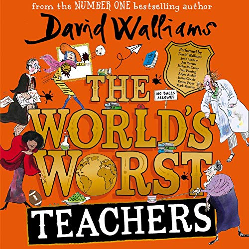 The World's Worst Teachers audiobook cover art