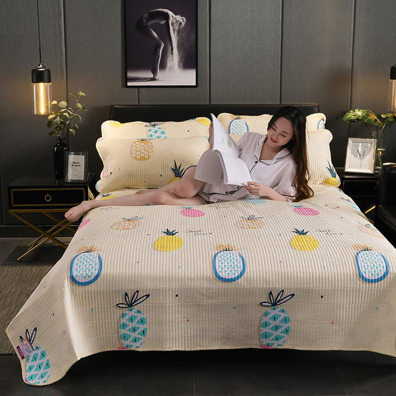 作り絶滅公使館厚く キルト 毛布, ポリエステル ファイバー 弾性 ベッド 1500 スレッド数 3 個入り 軽量 印刷 ベッド カバー-b 230x250cm