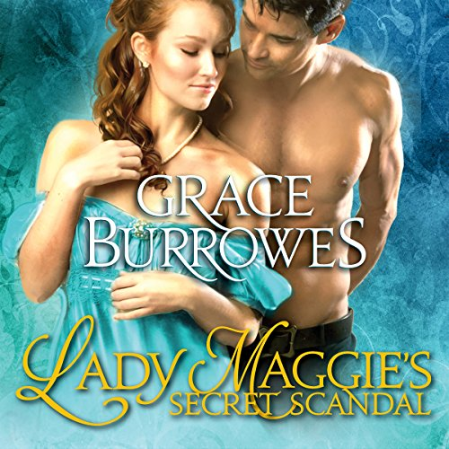 Lady Maggie's Secret Scandal audiobook cover art