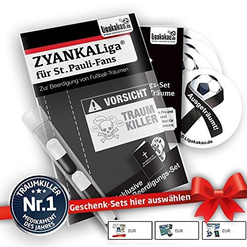 Alles für St. Pauli-Fans by Ligakakao.de St. Pauli Home Trikot ist jetzt ZYANKALIGA Puma Herren Home Shirt Replica mit Logo schwarz-weiß