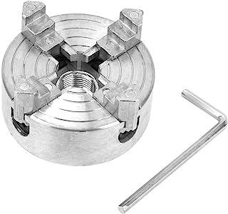 Z011A Portabrocas de 4 mordazas, herramienta de taladrado de fresado CNC de mandril de torno de aleación de zinc para mini torno de metal