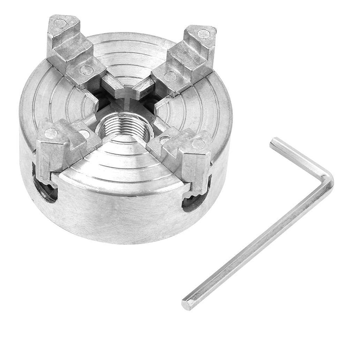 電子汚すあいさつミニメタル旋盤用亜鉛合金4ジョーチャッククランプアクセサリーZ011A