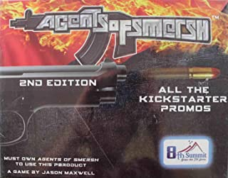 Board Games 8th Summit Agents of SMERSH - All The Kickstarter Promos!