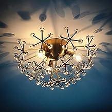Moderne eenvoudige glazen bal kroonluchter led lamp bloemen warm licht E14 Nordic fashion art creatieve persoonlijkheid wo...