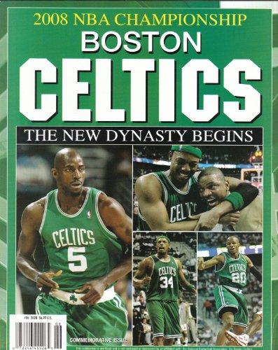 Boston Celtics 2008 NBA World Champions Commemorative Magazine Big 3 Cover