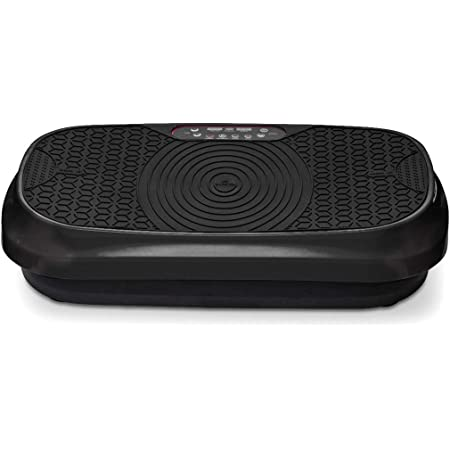 LifePro Waver Mini Vibration Plate - Whole Body Vibration Platform Exercise Machine - Home & Travel Workout Equipment for Weight Loss, Toning & Wellness - Max User Weight 260lbs