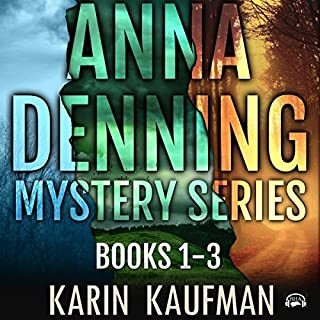 Anna Denning Mystery Series Box Set: Books 1-3 audiobook cover art