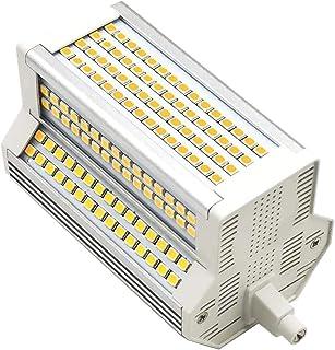 Bombilla LED R7S 118 mm 50W 6000k Mmdimmable Doble J118 J Tipo Proyector LED Lámpara halógena de pie 500W Lámpara halógena de Tubo Solar de 200 Grados,Warm White,AC 220/240V