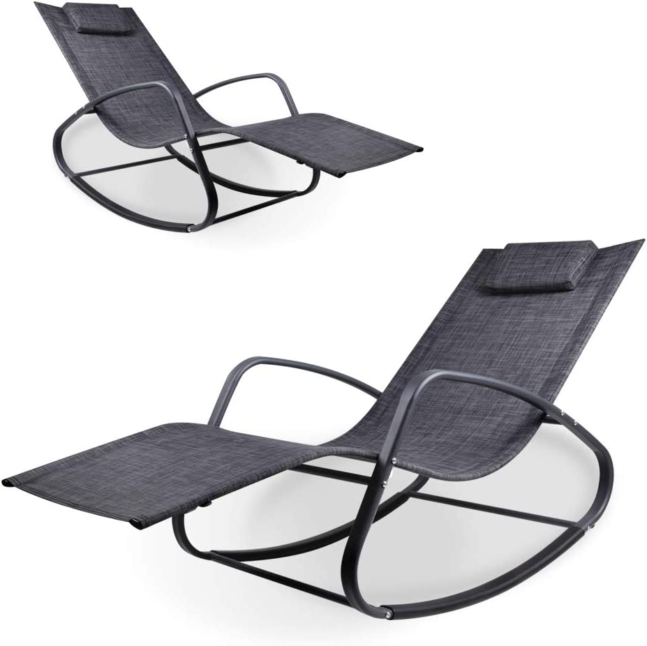 Now on sale WeCooper Zero Gravity Low price Rocking Chair for Chaise Indoor Patio and