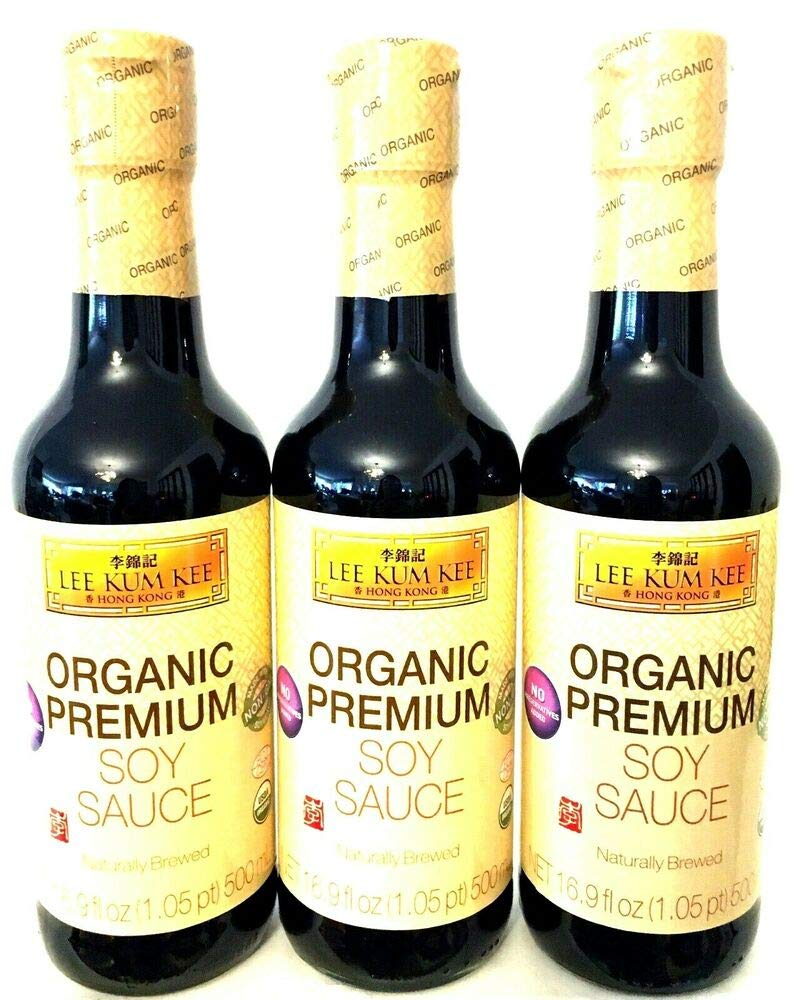 Lee Kum Kee Organic New product Premium Soy Max 69% OFF Sauce 3 16.9 oz of Pack