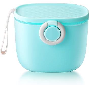 Tragbare kids Babynahrung Milchpulverspender Milchpulver Box 3 Kammern Blau
