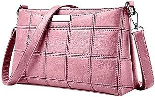 Ladies Bag Tote Bag Leather Plaid Crossbody Shoulder Bag