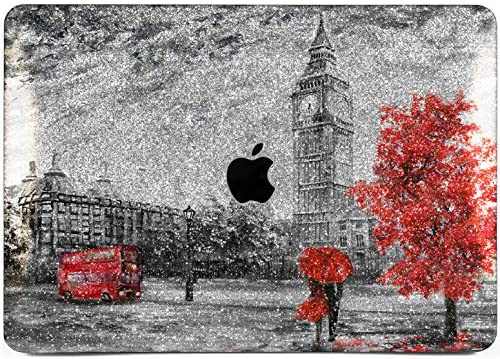 Cavka Hard Glitter Case for Apple MacBook Pro 13 2019 Retina 15 Mac Air 11 Mac 12 Bling Blossom product image