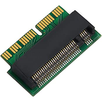 QNINE M.2 Adaptador convertidor NVME SSD para MacBook Air Pro ...