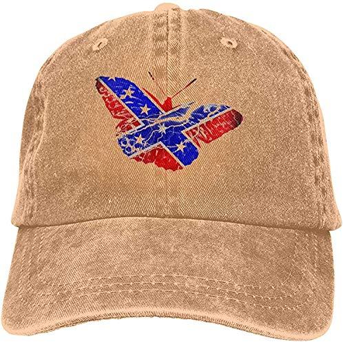 Bandanas Gorra de béisbol con diseño de bandera americana, ajustable, estilo unisex