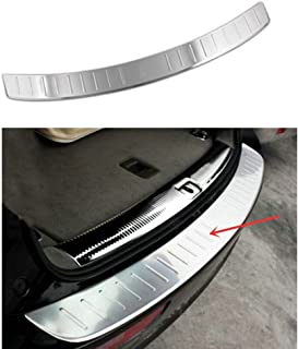 Opall Stainless Steel Rear Bumper Protector Sill Plate Cover for Audi Q5 2009 2010 2011 2012 2013 2014 2015 2016 2017