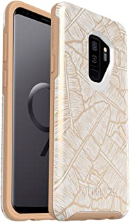 OtterBox Symmetry Series Case for Samsung Galaxy S9+ - Frustration Free Packaging - Throwing Shade (WHTE/Roasted TAN/Throw...