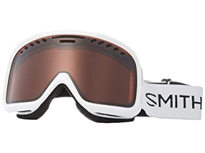 Smith Optics Project Goggle (White Frame/RC36 Lens) Snow Goggles