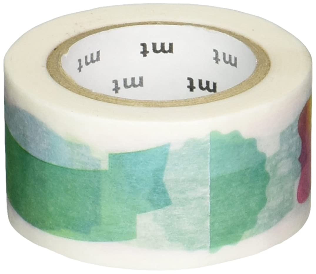 MT Washi Masking Tape, 25mm x 10m, Water Color Label (MTEX1P116)