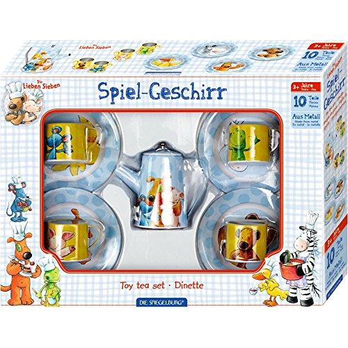 Spiegelburg 14252 Spiel-Geschirr Die Lieben Sieben