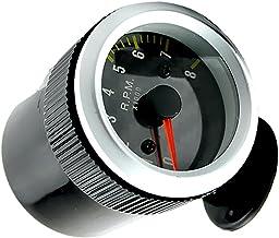 argent JIUY Cs-378a1 Instrument compteur kilom/étrique huile Jauge Modification moto tachym/ètre Modification du tableau de bord Auto Parts