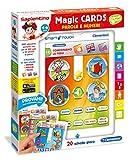 Sapientino- CLEMENTONI Magic Cards Parole Giochi da Tavolo, Multicolore, 4-6 Anni, 8005125132614