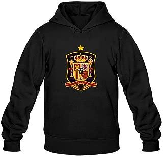 XIULUAN Men's Spanish National Men's Football Team Logo Hoodie
