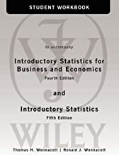Student Workbook to accompany Introductory Statistics for Business and Economics, 4th Edition