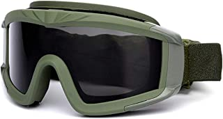 Aooaz Cs Tactical Shooting Glasses Military Enthusiasts Windproof Sand Proof Goggles