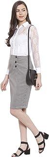 Martini Crepe a-line Skirt