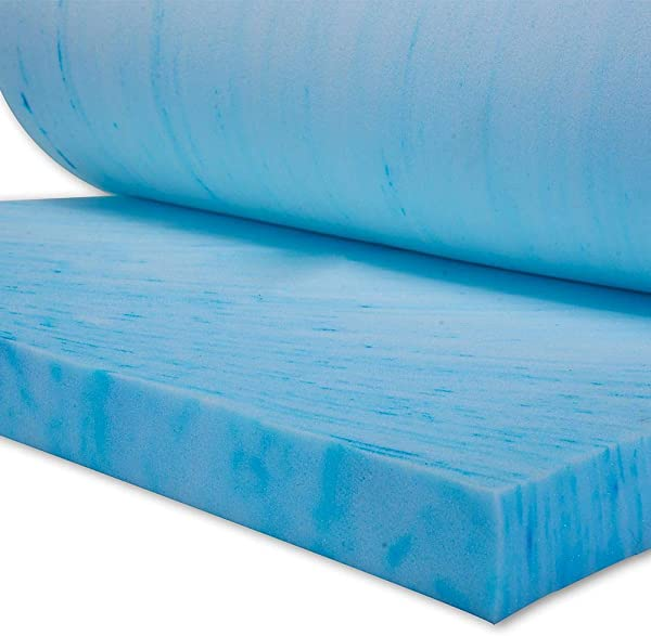 OCM 2 5 Thick Ultimate Gel Flex Memory Foam Mattress Topper Pad For Twin XL College Dorm Mattress