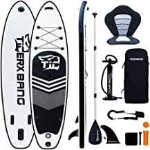 Sponsored Ad – TIGERXBANG SUP Board Stand Up Paddle Board | 305x82x15cm |320x80x15cm | for Adults/Kids| ISUP Surfing Compl...