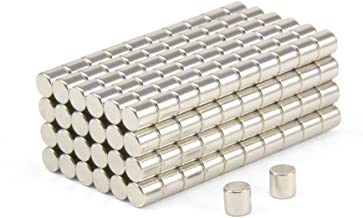 Badge magnetico da 45 x 13 mm first4magnets F4MNB2-50 50 pezzi con retro autoadesivo in metallo