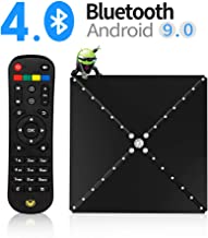 MIYOKA YSE-SUP Android TV Box RK3399 System OS9.0 4GB 64GB 2.4G/5.8G Dual WiFi, Including 1 Year IP TV & 57B Air Mouse Smart TV Box