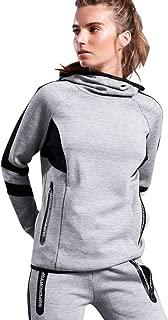 Women's Core Gym Tech Funnel Neck Pullover Sweatshirt