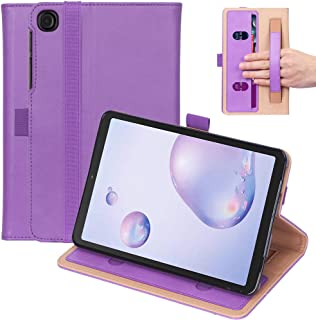 """Ratesell Galaxy Tab A 8.4"""" (2020) Case, Multi-Angle Business Cover Built in Pocket Hand Strap Compatible with Samsung Gala..."""
