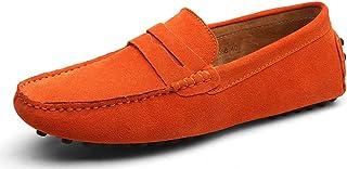 Eagsouni® Uomo Classiche Mocassini Casuale Scarpe Scamosciata Slip On Penny Loafers