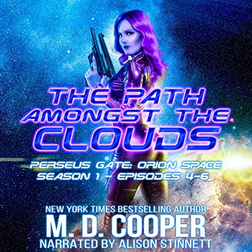 Perseus Gate Season 1 - Episodes 4-6: The Path Amongst the Clouds audiobook cover art