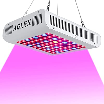 AGLEX LED Grow Light 600W, Full Spectrum Reflec...