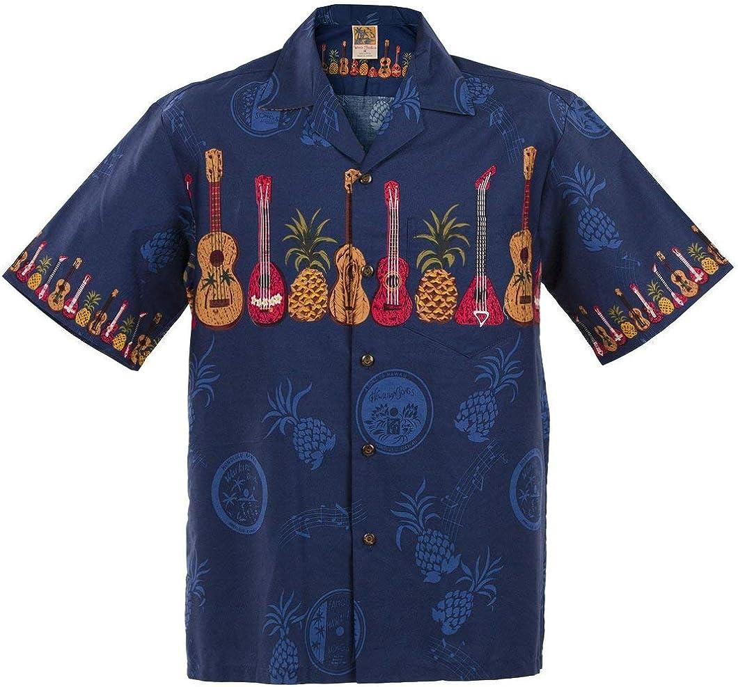 Ukulele Hawaiian Tampa Mall Aloha Shirt; Made Max 80% OFF in Hawaii