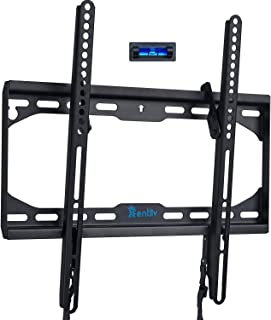 TV Wandhalterung für die meisten 23 55 Zoll Flach und Curved Fernseher, neigbare TV Halterung Max. VESA 400 x 400 mm, bis zu 50 kg