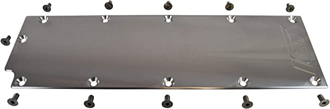 ICT Billet LS Gen 4 Valley Pan Cover Plate Low Profile Carb Lifter LSX LS3 DOD Billet Aluminum Engine Lifter Area Oil Cover Compatible with Chevy Gen IV 551646