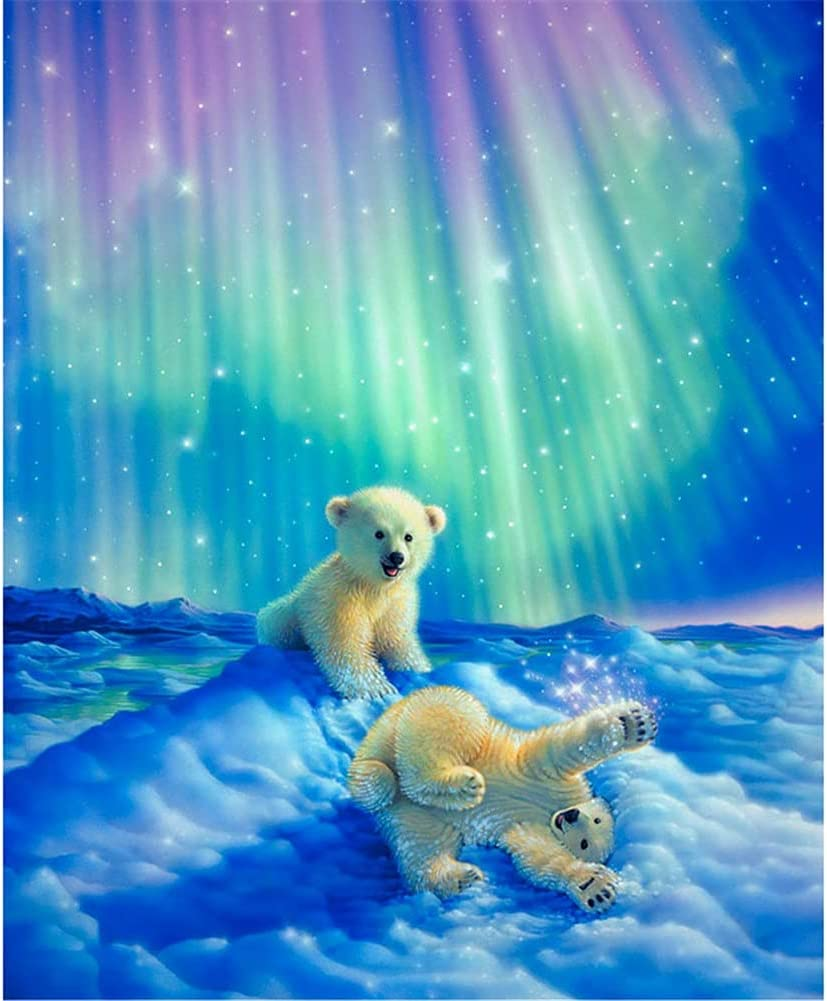 DIY 5D Diamond Painting by Cheap mail Max 70% OFF order shopping Number Cry Drill Bear Kits Baby Full