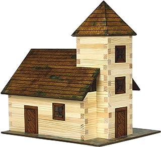 Walachia 8594036430129 - nr 12 kyrka trä modellbyggsats, modellbana spår 1/LGB 1:32