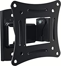 EVERVIEW Tilt TV Wall Mount Bracket 2.28 Inch Low-Profile Design with Quick Release Function, VESA 75 and VESA 100 Compliant, Steel Fits up 27 Inch TVs 33 Lbs Carrying Capacity