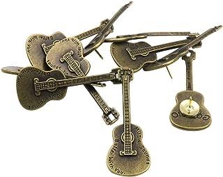KOTU 12 Pack Decorative Thumbtacks Reative Guitar Shape Pushpins Drawing Pins for Feature Wall, Whiteboard, Corkboard, Photo Wall